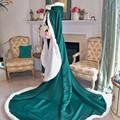 2016 venda Hot nupcial cabo capas de casamento quente da pele do falso perfeito para o inverno casamento nupcial Cloaks Abaya
