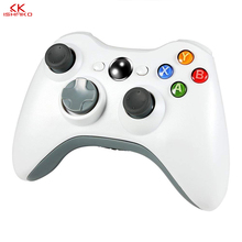 Game Controller for x box 360 Gamepads Accessory White  Double Shock Joystick
