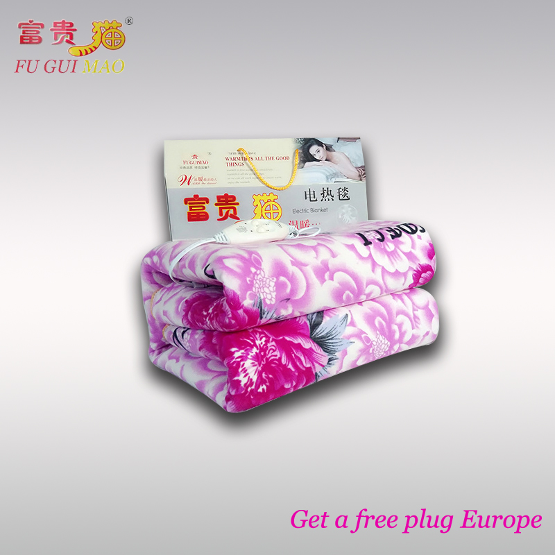 220v Electric Heating Blanket Heated Blanket Increased Thickening Double Electric Blankets Manta Electrica Electric Bed Blanket cotton lamb fleece blanket 115 115cm 100% cashmere double face blankets nordic style