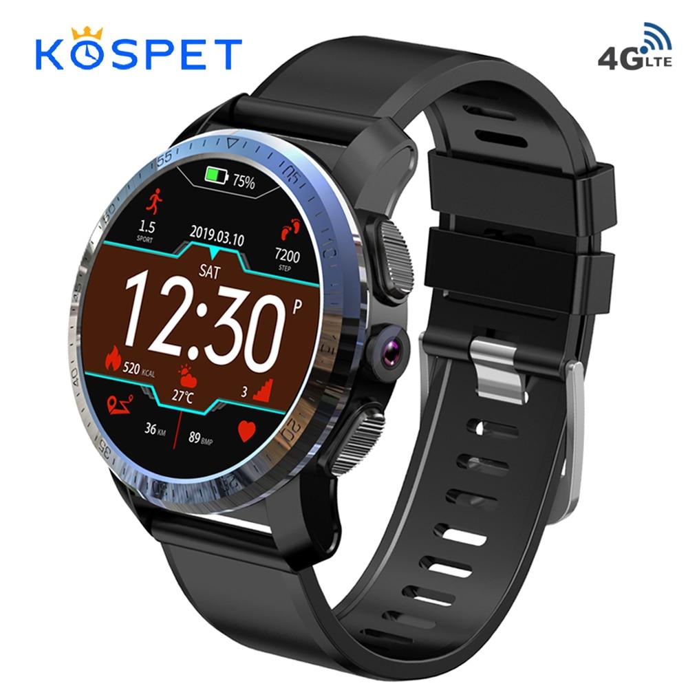 Kospet Optimus Pro Dual System 4G Smartwatch Phone Android 7.1 Sports 8.0MP Camera 3GB RAM 32GB ROM Smart Watch 800mAh WiFi GPS smartwatch kospet optimus pro