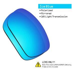 Image 3 - SmartVLT 2 pary spolaryzowane okulary przeciwsłoneczne wymienne soczewki dla Oakley skalpel Stealth czarny i niebieski lód