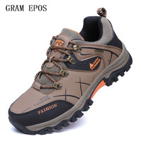GRAM EPOS Spring Autumn Men Casual Shoes Breathable Men Shoes Plus Size PU Leather Upper Durable