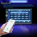 Auto-car styling 7 Touchscreen Duplo Din No Painel Do Carro 1080 P Ligação Espelho Mp5 Player do carro de Rádio Estéreo styling Feb24