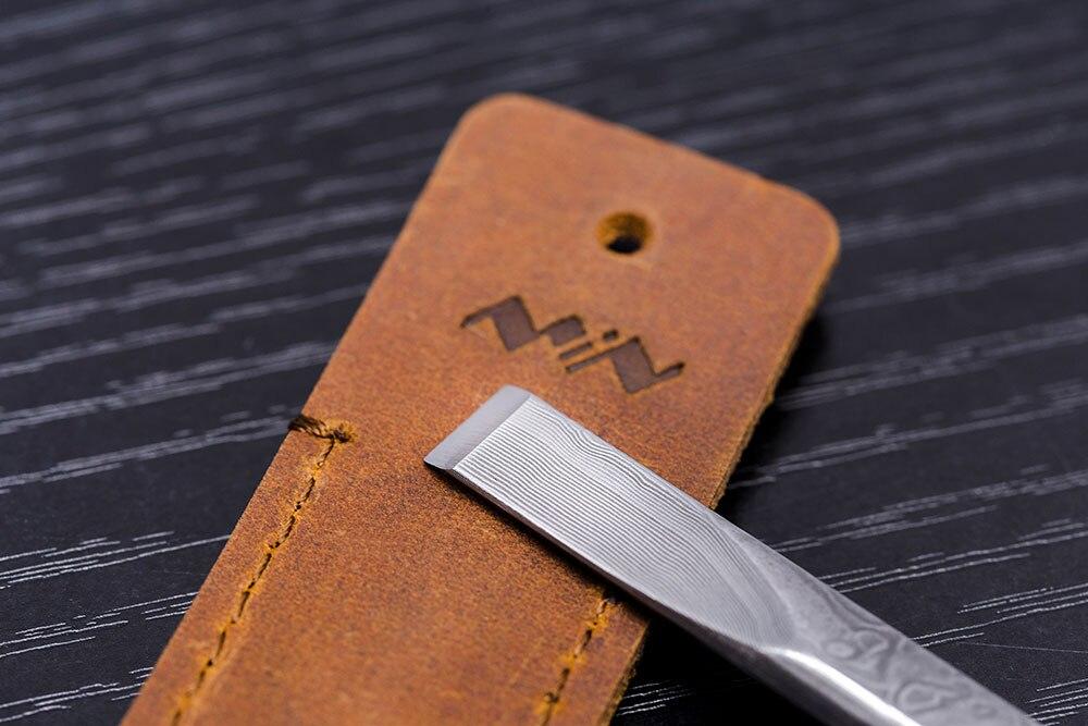 Tools : High Strength Damascus Steel Mscraper Precision Sharp Blade Industrial Scraper Knife For Electric DIY Working