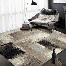 Modern Fashion Abstract gray black Crystal velvet living room bedroom carpet Bathroom kitchen door mat non-slip rug custom made brick wall print crystal velvet fabric bathroom rug