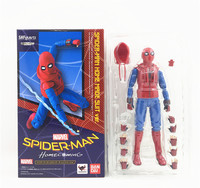Spider Woman Spiderman Spider Man Homecoming Home Made Suit Ver PVC Action Figure Collectible Model Toy