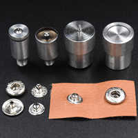 15mm/12.5mm snaps die Metal buckle installation Rivets. Press machine moulds Dies Button installation tools.Eyelets. metal snaps