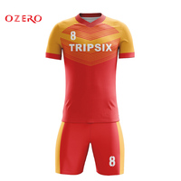 oem simple design full sublimation good quality usa style football shirt