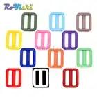 1000pcs/pack 1 (25mm)Colorful Triglides Adjust Buckle For Dog Collar Harness Backpack Strap - 2