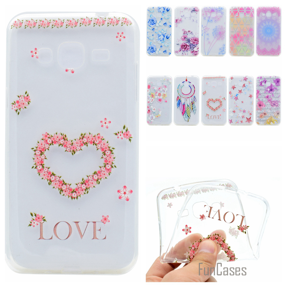 Cute Phone Case For Samsung Galaxy J310 Coque Colorful Style Soft TPU Capa For Samsung J3 2016 J310F Fundas Back Cover aksesuar