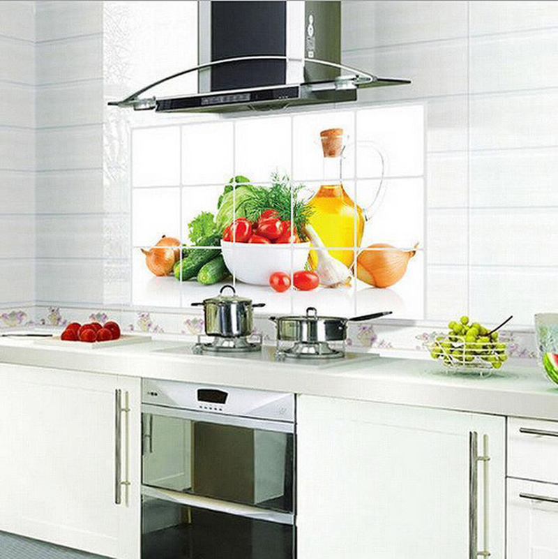 Genial Kitchen Tiles Fruit Design