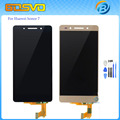 "5.2"" High quality Replacement part for Huawei honor 7 LCD display with touch screen digitizer glass assembly free shipping+tools"