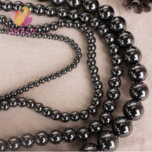 Hematite beads 4MM 6MM 8MM 10MM 12 mm Round Beads Fit Jewelry DIY making bracelet makeing(China)
