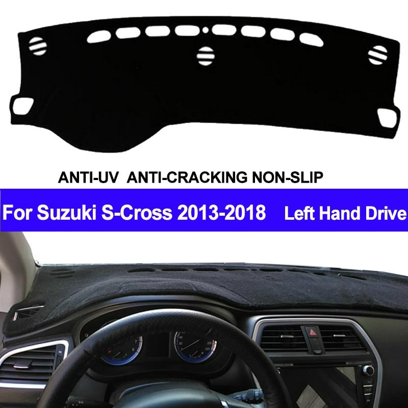 TAIJS Car Dashboard Cover Dash Mat Dash Board Pad Carpet Dashmat For Suzuki S Cross Cross