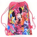bow  Barbie Cartoon drawstring children's school bags, kids birthday party Favor, Mochila escolar, school kids backpack 55