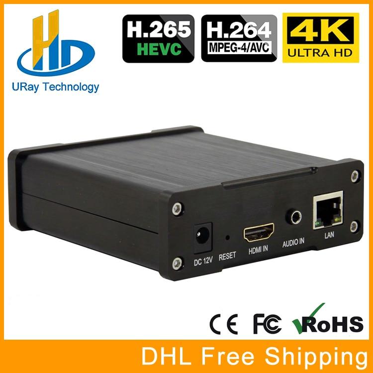 HEVC UHD 4K HDMI Video Audio Encoder H.264 H.265 IPTV Encoder Live Streaming RTMP Encoder HDMI To RTSP HLS UDP HTTP Transmitter uray 3g 4g lte hd 3g sdi to ip streaming encoder h 265 h 264 rtmp rtsp udp hls 1080p encoder h265 h264 support fdd tdd for live