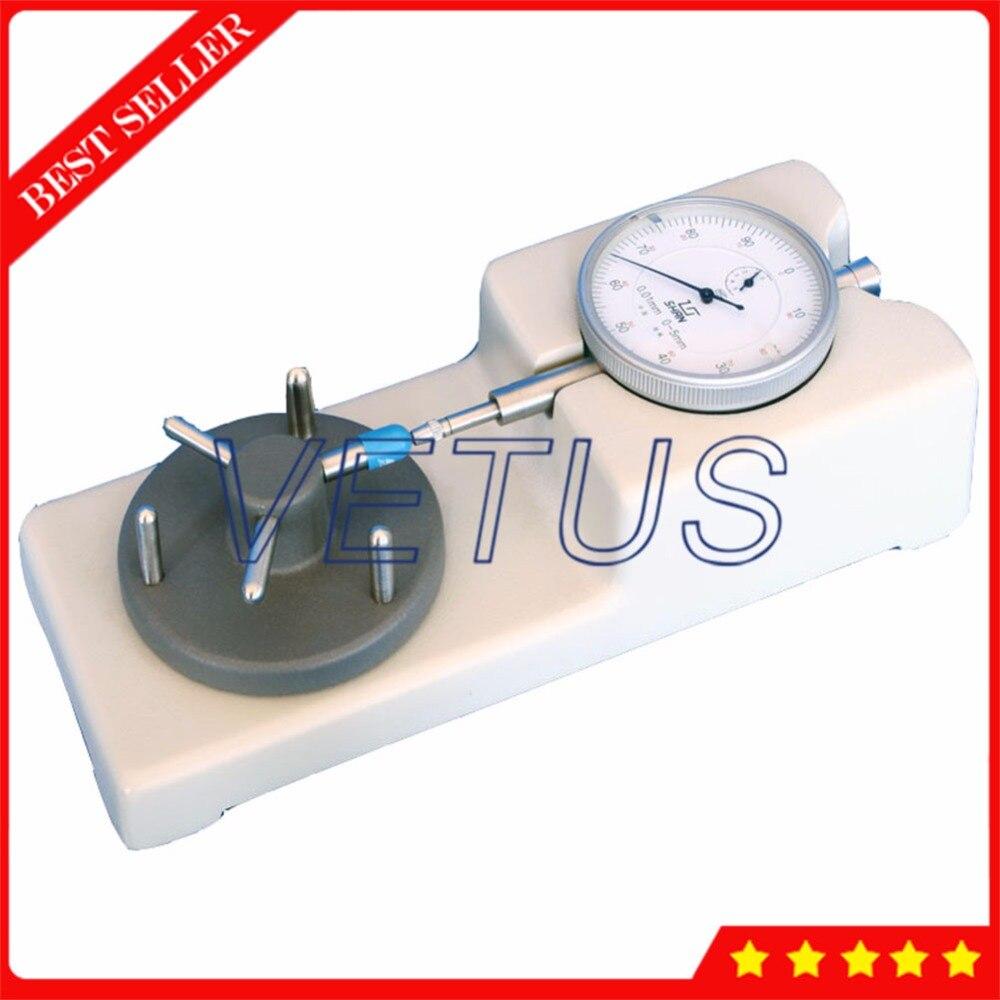 Testeur d'épaisseur de bureau d'instrument de mesure physique de laboratoire de HD-1 pour la mesure d'épaisseur de paroi de pic de Capsule gamme 0 ~ 5mm