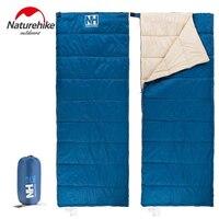 Naturehike Outdoor Camping Sleeping Bag Envelope Type Ultralight Portable Cotton Sleeping Bag Hiking Traveling Lunch Break