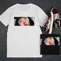 Mulheres engraçadas T-shirt de manga curta solta
