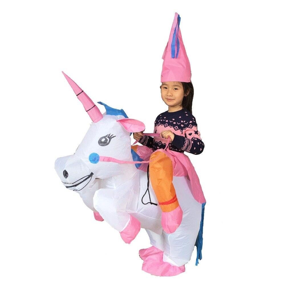 JYZCOS พองยูนิคอร์นเครื่องแต่งกายสำหรับเด็กผู้หญิงผู้ใหญ่ฮาโลวีน T-Rex ไดโนเสาร์คาวบอยเป็ดโปเกมอน Pikachu สูท Purim คอสเพลย์