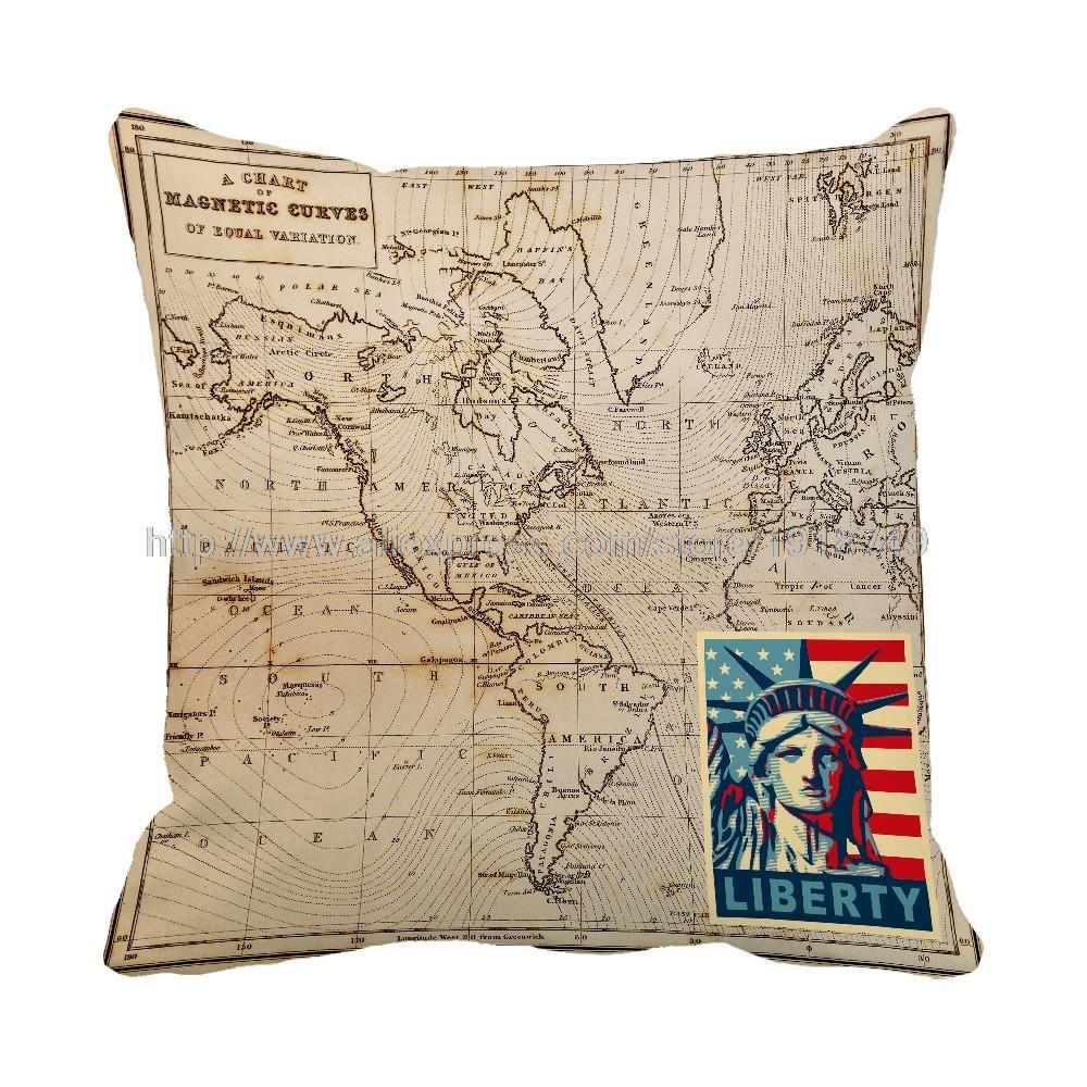 mapa da a13 ₩Mapa liberdade impresso amarelo decorativo sofá deocr casa  mapa da a13