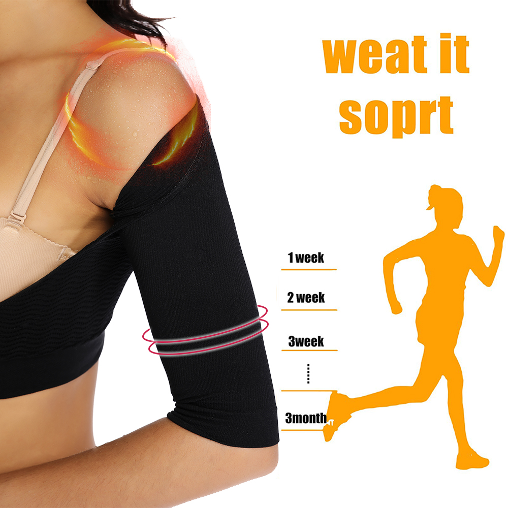 Body Shaper Women Arm Shaper Chest Posture Corrector Slimming Underwear Push Up Tops Crop Control Arm Surgery Long Sleeves