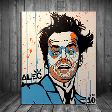 Alec Monopoly Skyler Grey Street Art Canvas Painting Print Living Room Home Decor Modern Wall Art Oil Painting Poster Picture HD футболка print bar street art