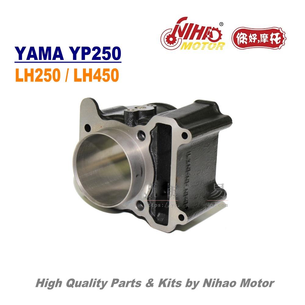 TZ-05 YP300 300cc cilindro Assy 72,5mm LINHAI partes LH300 LH173MN ATV QUAD  Motor de motocicleta