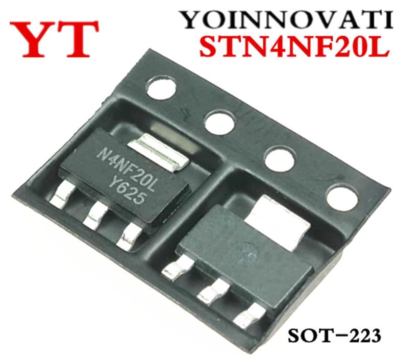 5pcs STN4NF20L STN4NF20 4NF20L MOSFET N-CH 200V 1A SOT-223