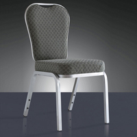 Wholesale Quality Strong Stacking Action Aluminum Restaurant Chair LQ L9066