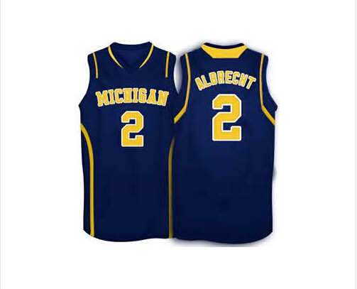 9dc370955dbe  2 Spike Albrecht Michigan Wolverines Basketball Jersey yellow