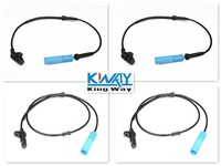 NEW ABS WHEEL SPEED SENSOR FRONT REAR LEFT RIGHT FOR BMW 1998 2001 E38 4pcs One set