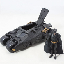 New 2016 Two In One Awesome Batman Tumbler Batmobile Toy Action Figure PVC Without box Gift for children