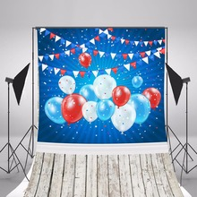 2017 Children Party Photography Backgrounds Colorful Balloon Photo Backdrops Fotografia Brithday Background Studio Props