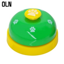 OLN Dog Ring Machine Training Pet Trainer Metal Bell Cat Order Footprint Intelligent Toy