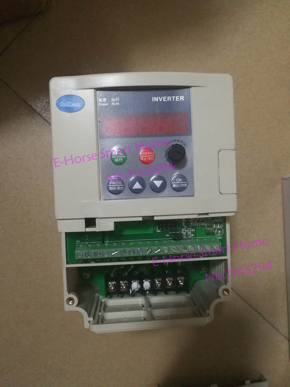 HTB1eZKDauSSBuNjy0Flq6zBpVXag - Frequency Converter ZW-S2-2T/1T 1.5KW VFD Frequency Inverter single phase Input 220v  3-phase output motor with control line