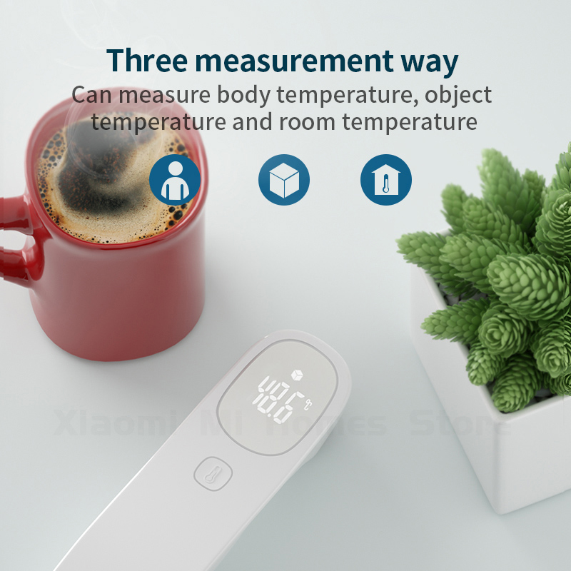 Image 5 - Xiaomi Mijia Infrared Forehead Thermometer Digital Infrared Forehead Body TFLAG Thermometer for Baby Kids Adults Elders-in Smart Remote Control from Consumer Electronics