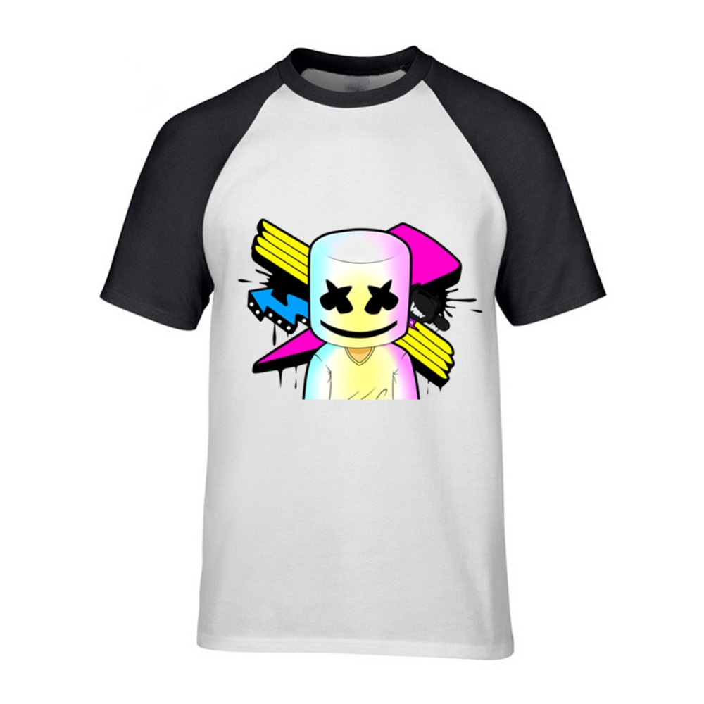 6df8b49f Detail Feedback Questions about T Shirts Music Marshmello Man O Neck Short  Sleeve Clothes New Arrival Hombre Online Men's T Shirts Camiseta Justin  Bieber on ...