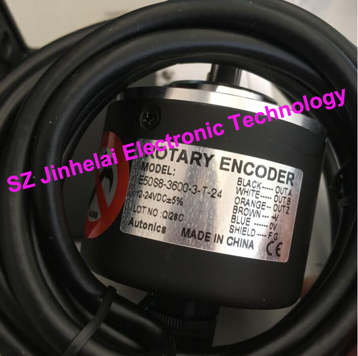 100% New and original  E50S8-3600-3-T-24  Autonics  ENCODER 100% new and original e50s8 360 3 t 24 autonics encoder