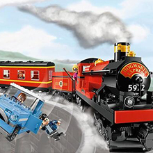 building bricks 724Pcs 16031 The Hogwarts Express Train Set Building Blocks Bricks Education Kit Toys 4841