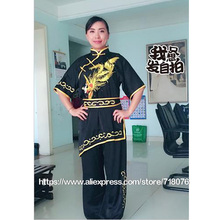 Customize Chinese wushu uniform Kungfu clothing Martial arts suit nanquan clothes for women men girl boy kids Phoenix embroidery
