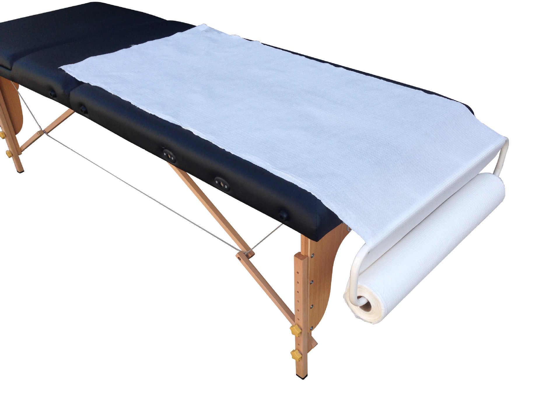 Одноразовые маски для лица держатель рулона для массажной кровати и кровати для косметических салонов регулируемый металлический кронштейн