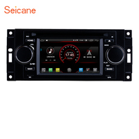 Seicane Android 8.1Car Radio DVD Player Multimedia GPS for Jeep Commander Compass Dodge RAM Chrysler 300 Wrangler Grand Cherokee