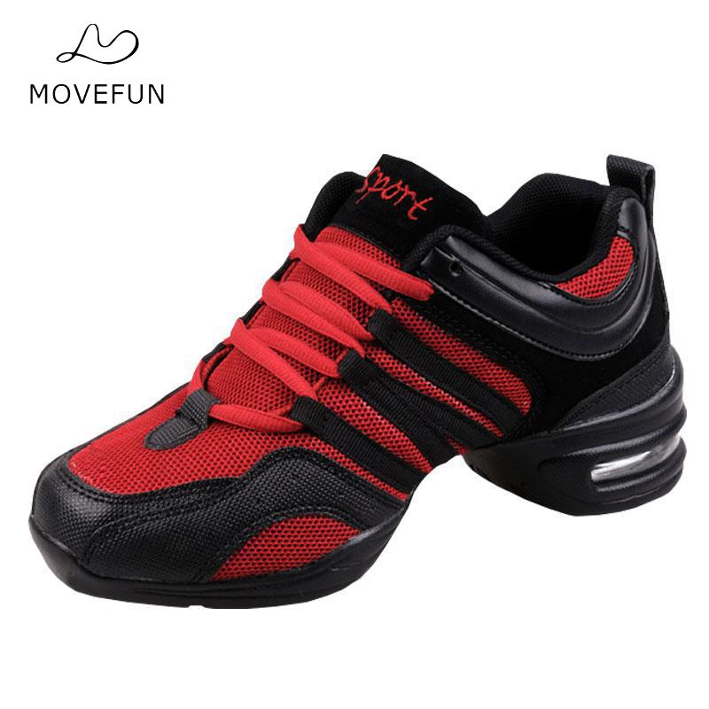 Women Hip Hop Shoes Jazz Dances For Dancing Sneakers For Woman Feature Soft Outsole Breath Dance Shoes genuine leather dance shoes women jazz hip hop shoes latin salsa sneakers for woman dance shoes size 35 36 37 38 39 40