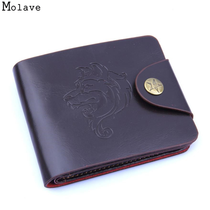 Wallet Men PU Leather Wallets Male PUrse Money Credit CardHolder Case Coin Pocket Designer Money Billfold Maschio Clutch May28