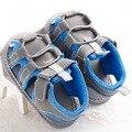 Soft-fundo não-deslizamento da criança do bebê shoes/verão sapatilhas do bebê/meninos do bebê sandálias/