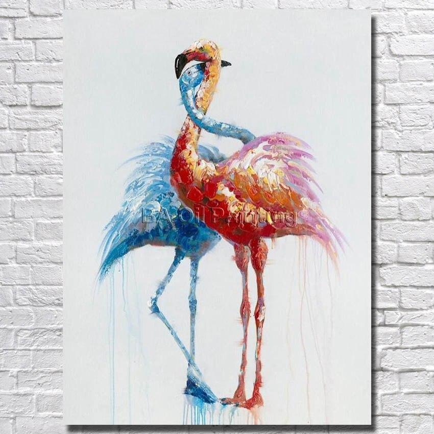 ᓂPintado a mano pintura al óleo animal encantadora alta calidad en ...