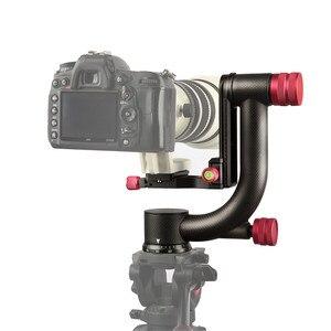 Image 5 - Viltrox VH 20 Pro Heavy Duty Carbon Fiber Gimbal Statiefkop Stabilisator Quick Release Plaat voor Telelens fotografie vogel