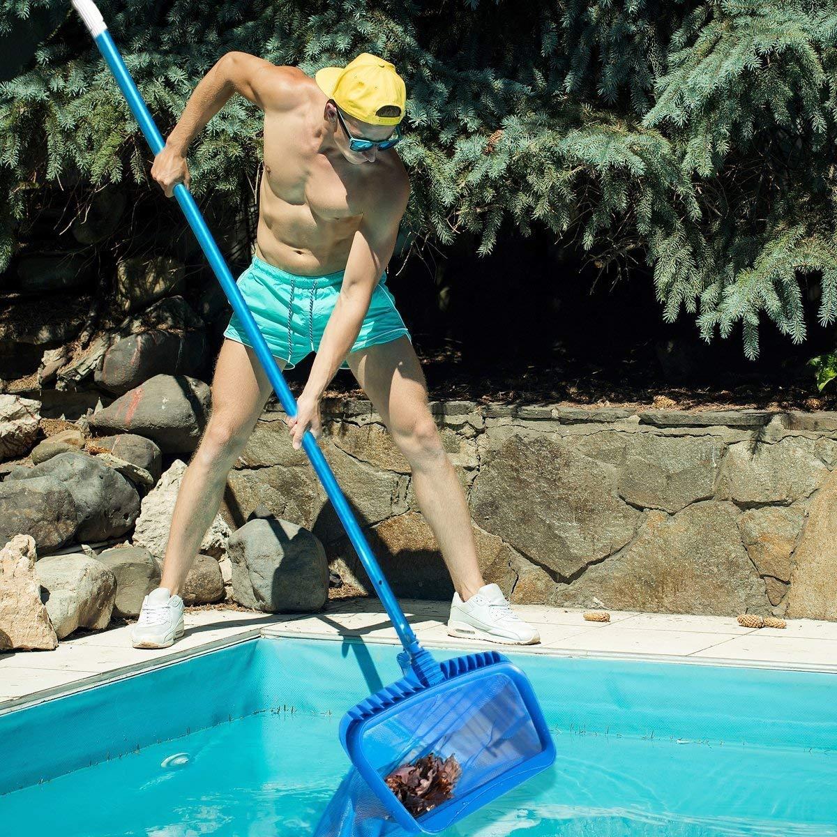 Rede de skimmer, ferramenta de limpeza resistente