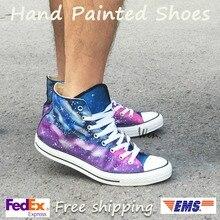sneakers Design Roxo Mão
